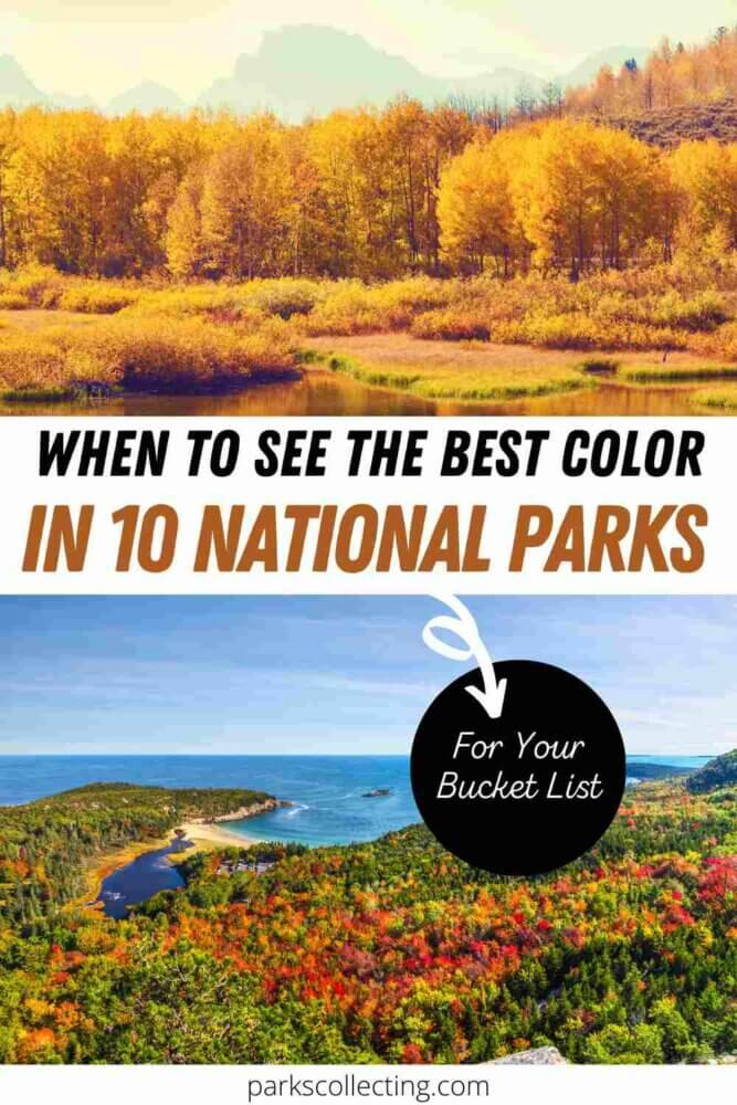When to See the Best Color in 10 National Parks