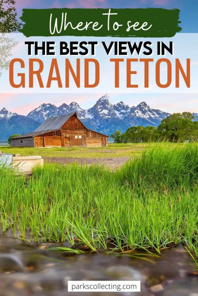 Where to See the Best Views in Grand Teton