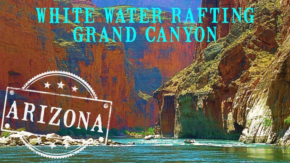White water rafting in Grand Canyon