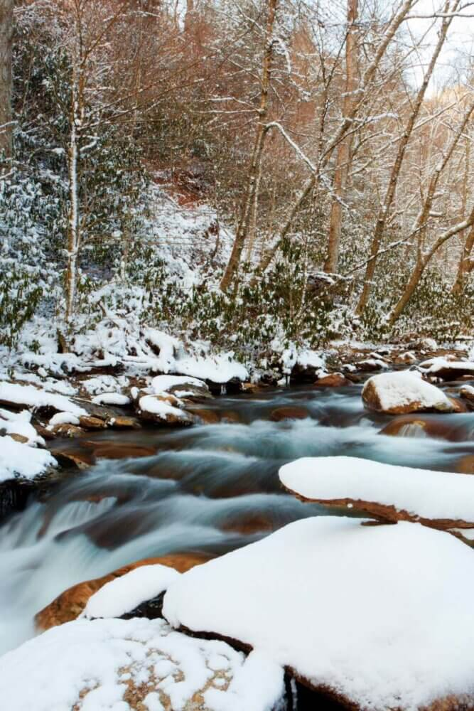 great smoky mountains national park winter