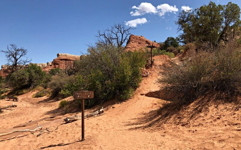 through-wash-and-up-and-out-Devils-Garden-TRail-Arches-National-Par