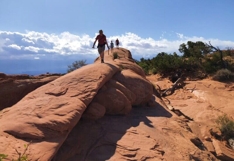 what-we-just-came-over-Devils-Garden-TRail-Arches-National-Park